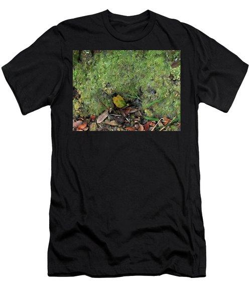Green Man Spirit Photo Men's T-Shirt (Athletic Fit)