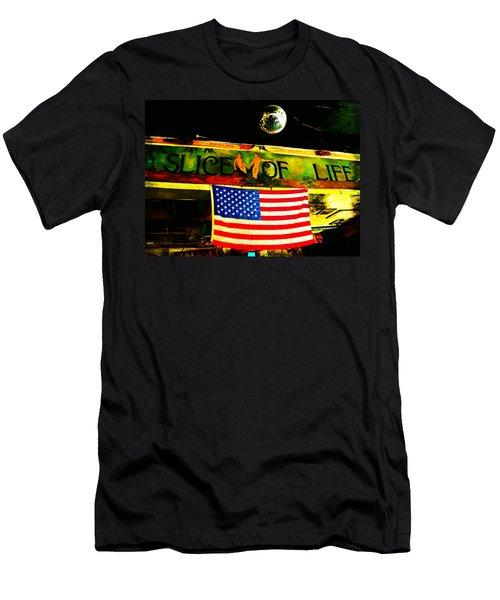 Green Parrot-key West Men's T-Shirt (Athletic Fit)