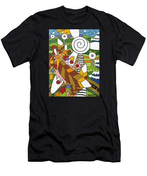 Green Power Men's T-Shirt (Athletic Fit)