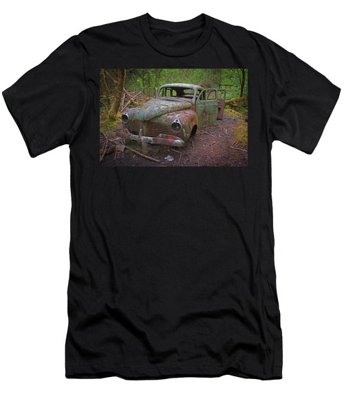Green Relic Men's T-Shirt (Athletic Fit)