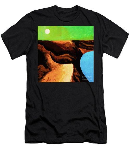 Green Skies Men's T-Shirt (Athletic Fit)