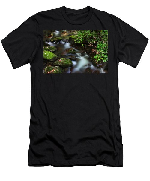 Green Stream Men's T-Shirt (Athletic Fit)