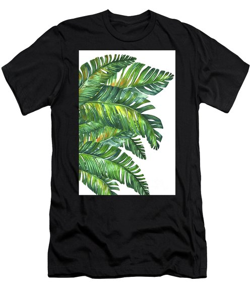 Green Tropic  Men's T-Shirt (Athletic Fit)