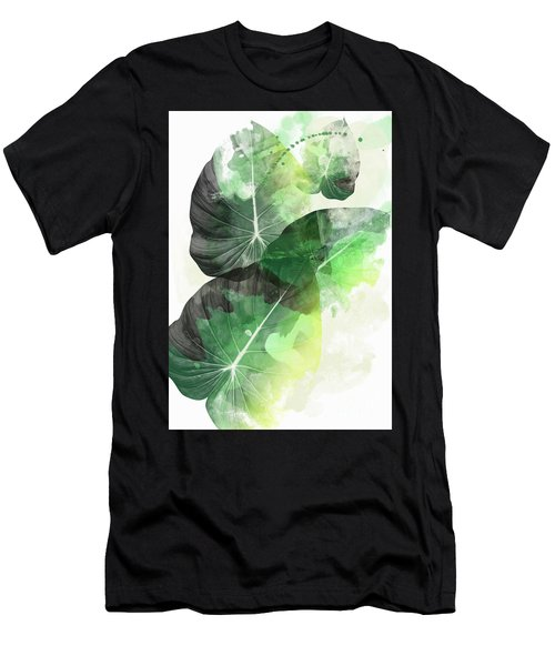 Green Tropical Men's T-Shirt (Athletic Fit)