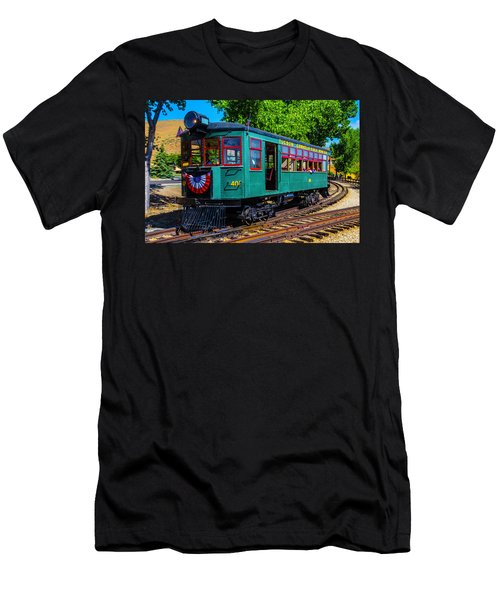 Green Tucson Cornelia And Gila Bend R R Men's T-Shirt (Athletic Fit)