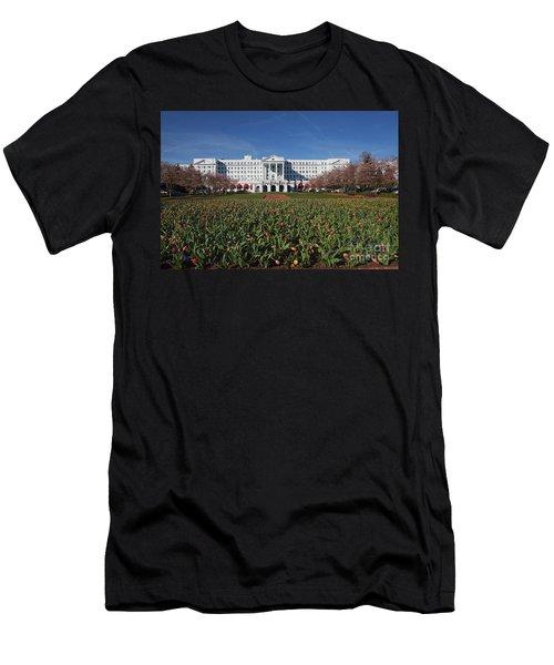 Greenbrier Resort Men's T-Shirt (Athletic Fit)