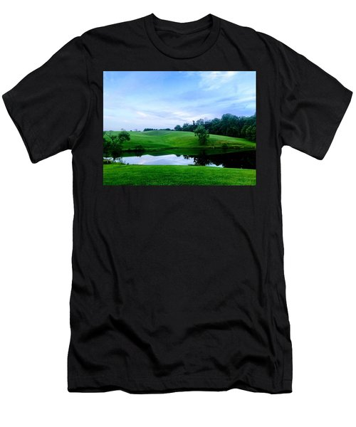 Greener Pastures Men's T-Shirt (Athletic Fit)