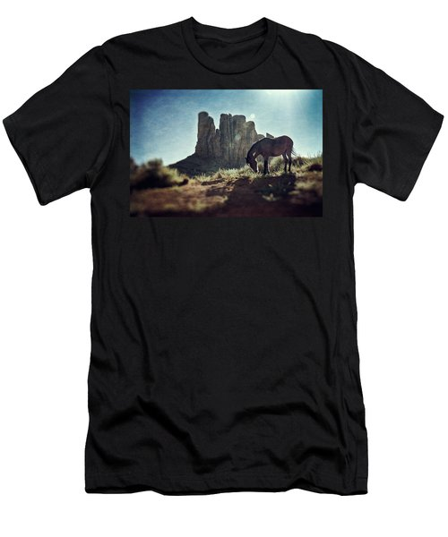 Greetings From The Wild West Men's T-Shirt (Athletic Fit)