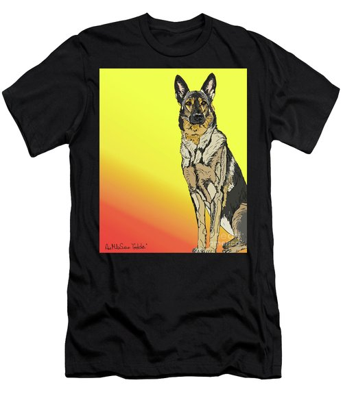 Gretchen In Digital Men's T-Shirt (Athletic Fit)