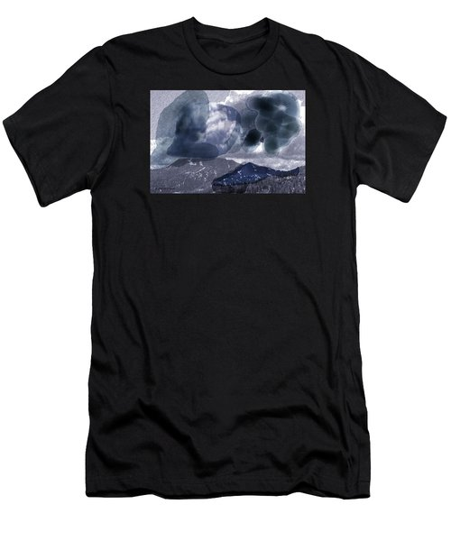 Grey Clouds Men's T-Shirt (Athletic Fit)