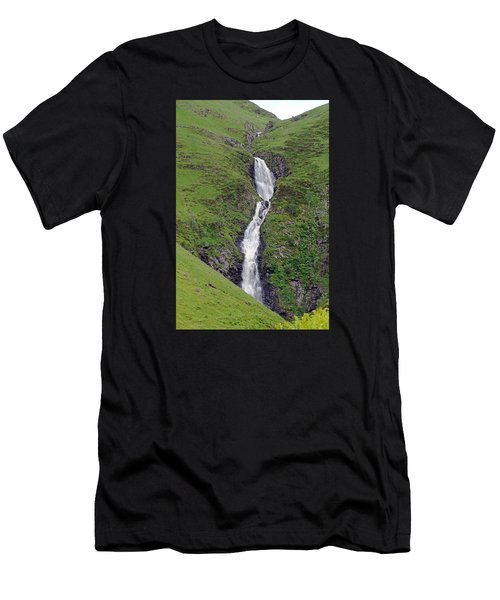 Grey Mare's Tail Men's T-Shirt (Athletic Fit)