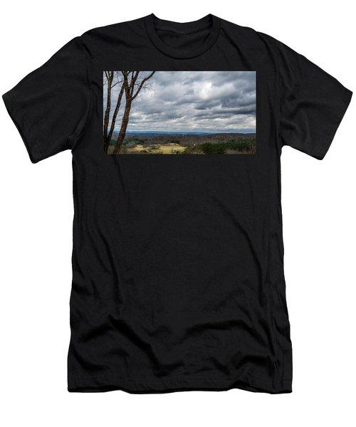 Grey Skies Men's T-Shirt (Athletic Fit)