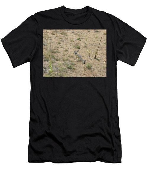 Greyfox5 Men's T-Shirt (Athletic Fit)