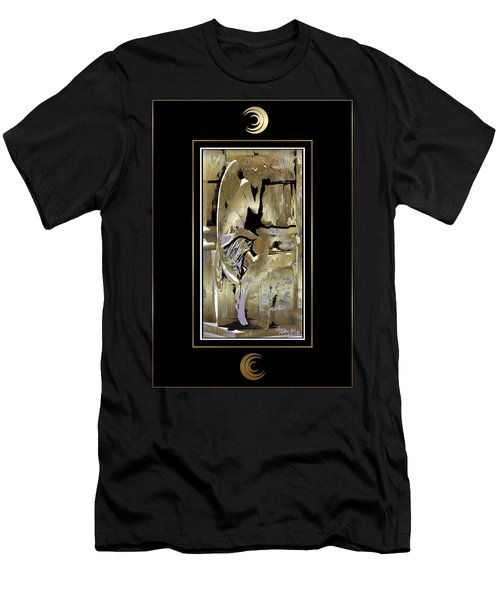 Grief Angel - Black Border Men's T-Shirt (Athletic Fit)