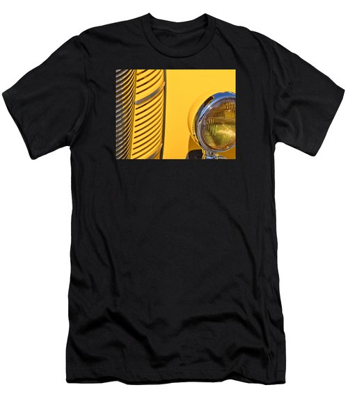 Grilled Chrome To Yellow Men's T-Shirt (Athletic Fit)