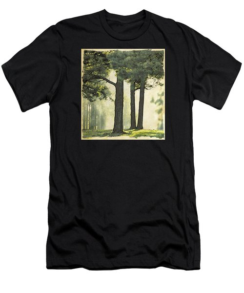Men's T-Shirt (Athletic Fit) featuring the photograph Grimm's Forest  by Beauty For God