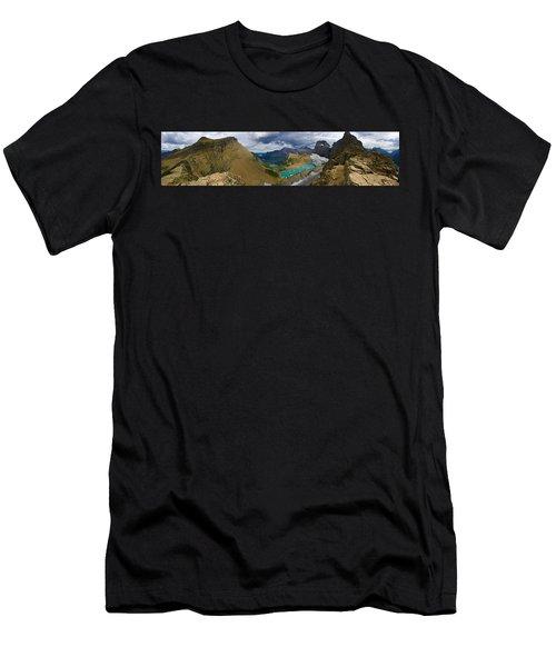 Grinnell Glacier Men's T-Shirt (Athletic Fit)
