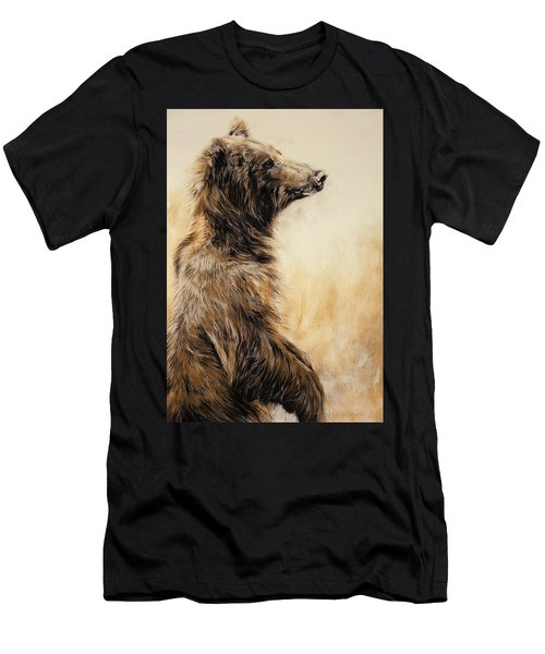 Grizzly Bear 2 Men's T-Shirt (Athletic Fit)