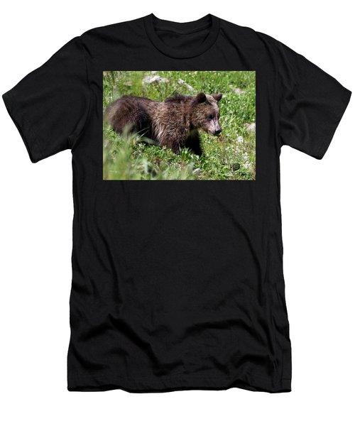 Grizzly Cub  Men's T-Shirt (Athletic Fit)