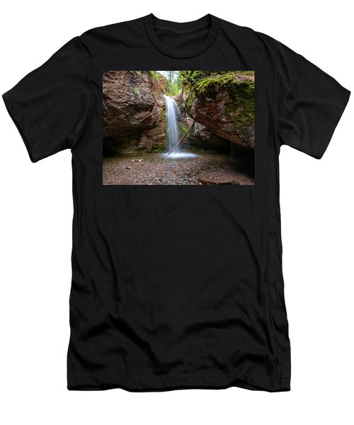 Grotto Falls Men's T-Shirt (Athletic Fit)