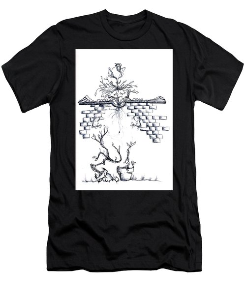 Growing Nowhere Men's T-Shirt (Athletic Fit)