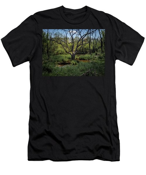 Growning From The Marsh Men's T-Shirt (Athletic Fit)