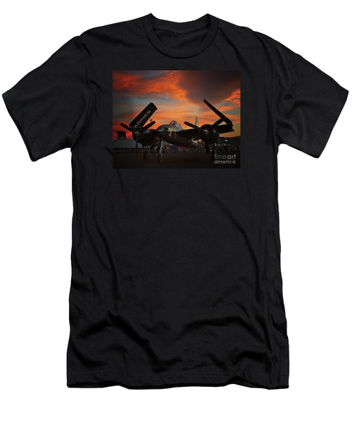 Grumman F7f Tigercat Fire Tiger Men's T-Shirt (Athletic Fit)
