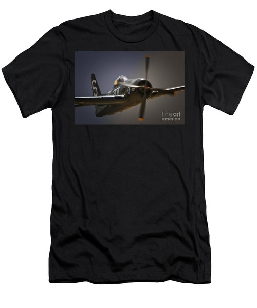 Grumman F8f Bearcat No. 201 Men's T-Shirt (Athletic Fit)