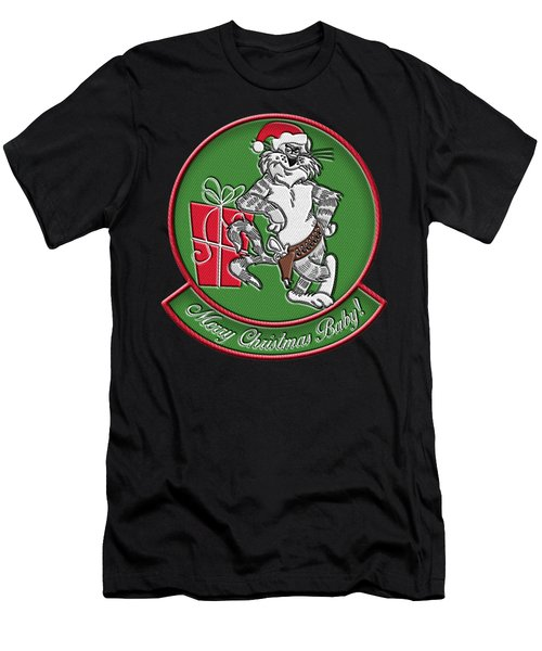 Grumman Merry Christmas Men's T-Shirt (Athletic Fit)