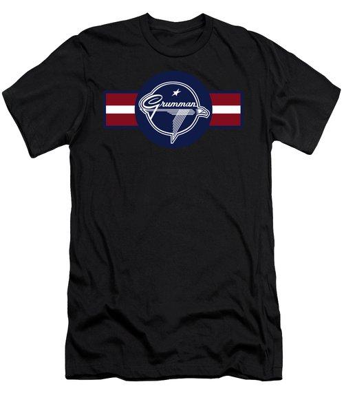 Grumman Stripes Men's T-Shirt (Athletic Fit)