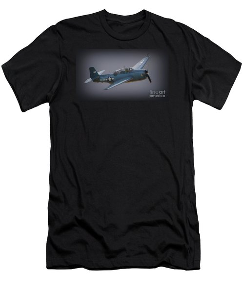 Grumman Tbf Avenger No.41 Bluegray Men's T-Shirt (Athletic Fit)