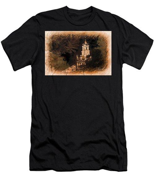 Grungy Todos Santos Men's T-Shirt (Athletic Fit)