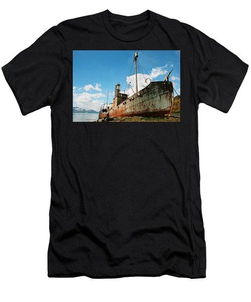 Grytviken Whaler Men's T-Shirt (Athletic Fit)