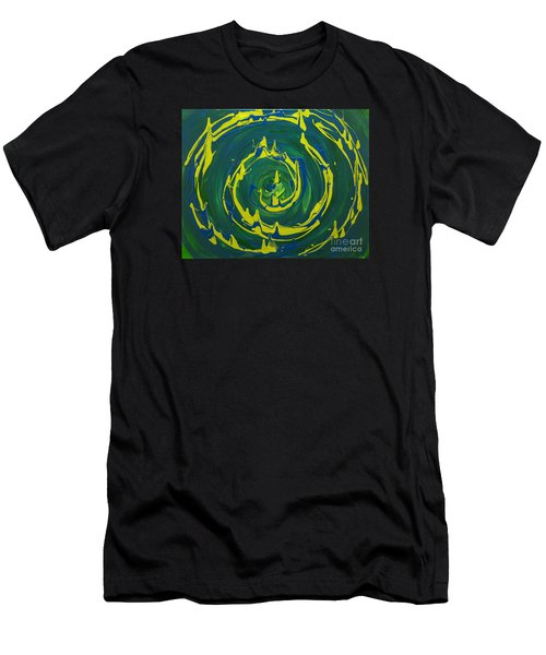 Guacamole Swirl Men's T-Shirt (Athletic Fit)
