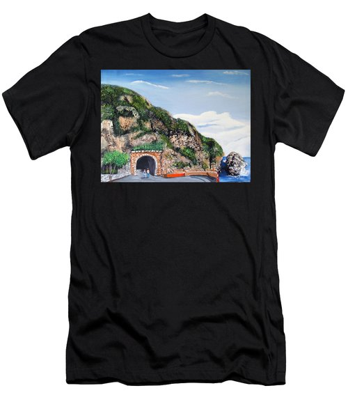Guajataca Tunnel Men's T-Shirt (Athletic Fit)