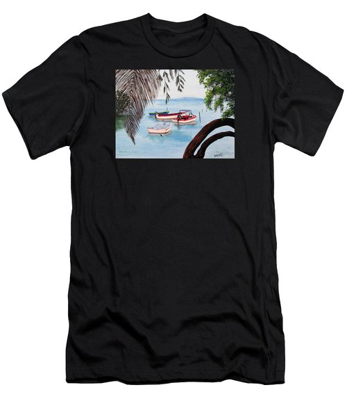Guanica Bay Men's T-Shirt (Athletic Fit)