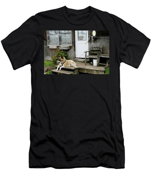 Men's T-Shirt (Athletic Fit) featuring the photograph Guarded by Brandy Little