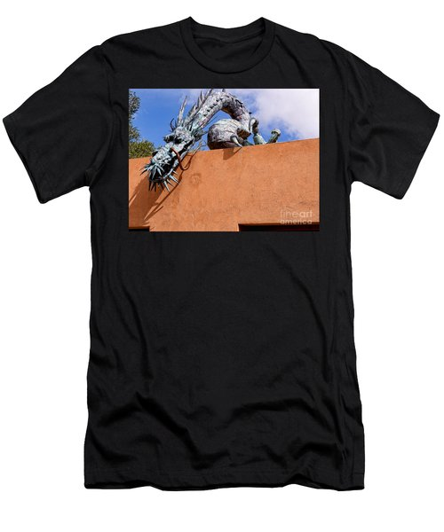 Santa Fe Guardian Dragon Men's T-Shirt (Athletic Fit)