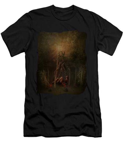 Guardians Of The Forest Men's T-Shirt (Athletic Fit)