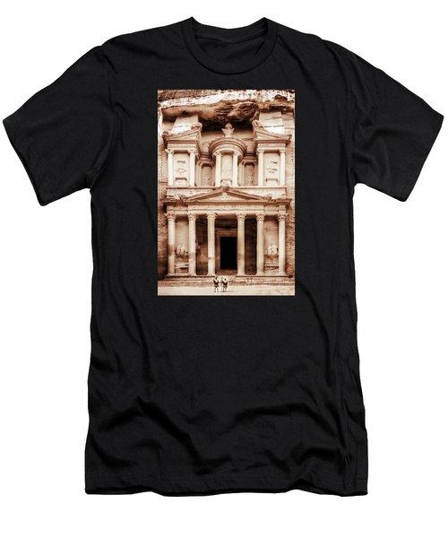 Guarding The Petra Treasury Men's T-Shirt (Athletic Fit)