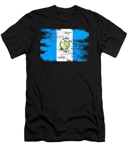 Guatemala Flag Gift Country Patriotic Travel Shirt Americas Light Men's T-Shirt (Athletic Fit)
