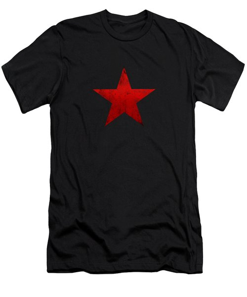 Guerilla Warfare Red Star Men's T-Shirt (Athletic Fit)