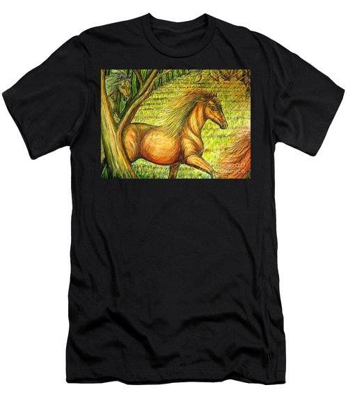 Guidance-out Of The Woods Men's T-Shirt (Athletic Fit)