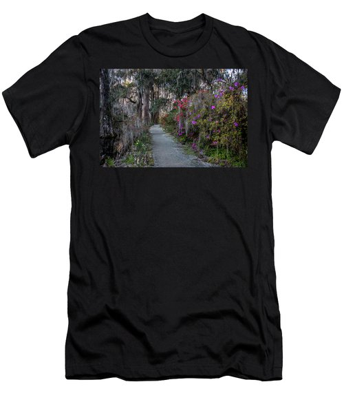 Guide Our Feet Into The Path Of Peace. Luke 1.79  Men's T-Shirt (Athletic Fit)