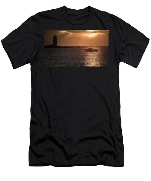 Guided By The Light Men's T-Shirt (Athletic Fit)