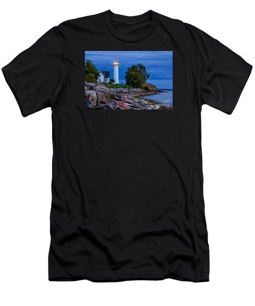 Guiding Light Men's T-Shirt (Athletic Fit)