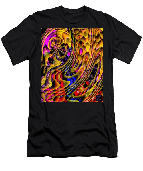 Guitar Abstract Men's T-Shirt (Athletic Fit)