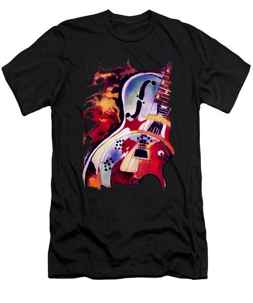 Guitar Flow Men's T-Shirt (Athletic Fit)