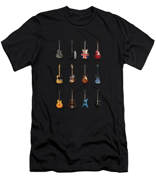 Guitar Icons No2 Men's T-Shirt (Athletic Fit)