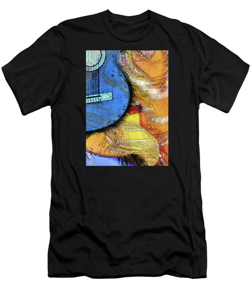 Guitar Music Men's T-Shirt (Athletic Fit)